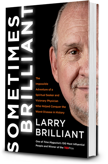 Cover of Sometimes Brilliant by Larry Brilliant